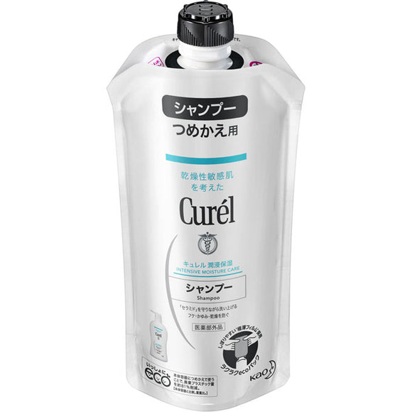 Kao Curel Shampoo Refill 340Ml