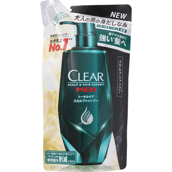 Unilever Japan Clear For Men Shampoo Refill 300G