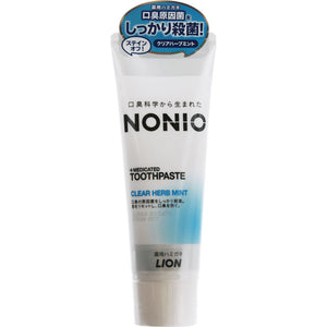 Lion Nonio Toothpaste Clear Herb Mint 130G