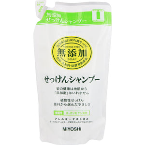 Miyoshi Soap Additive-Free Soap Shampoo Refill 300Ml
