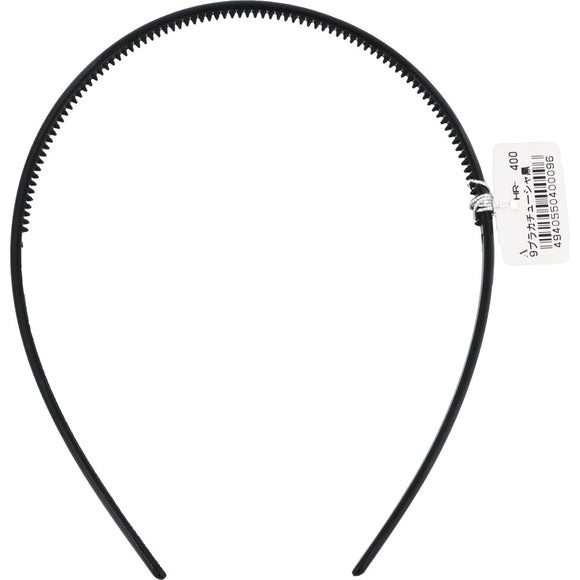 Hero Plastic Headband Black A