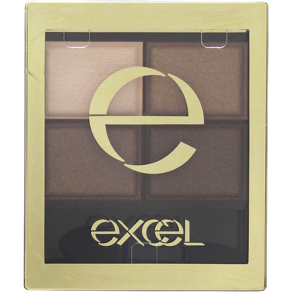 Tokiwa Yakuhin Sana Excel Skinny Rich Shadow Sr04 Smoky Brown