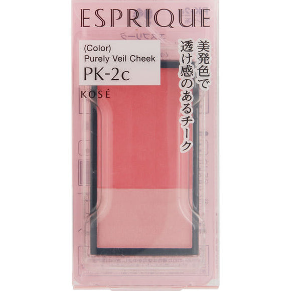 Kose Esplique Pure Bale Cheek Pk2 (Bright Coral Pink) 3.3G