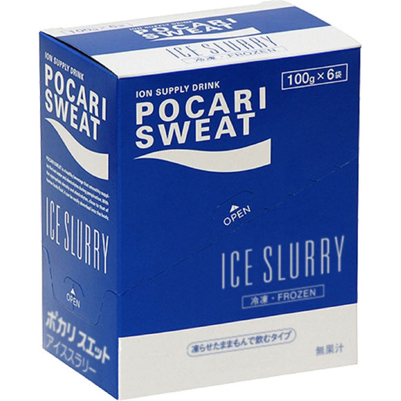 Otsuka Pharmaceutical Pocari Sweat Ice Slurry Ball 100g x 6