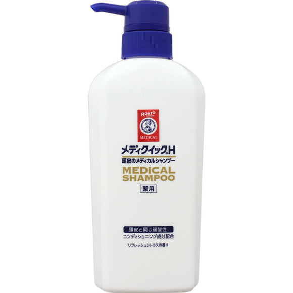 Rohto Mediquick H Scalp Medical Shampoo Pump 320Ml