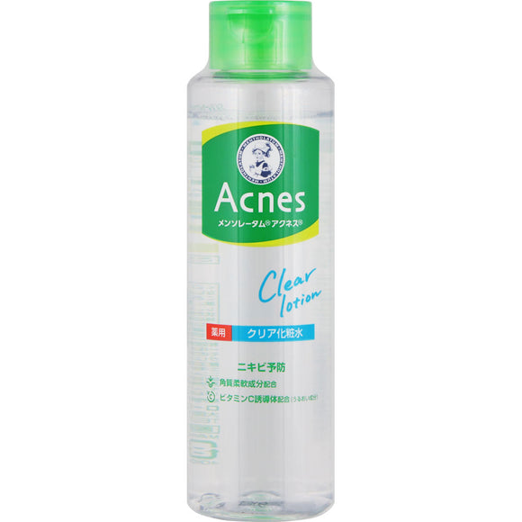 Rohto Mentholatum Acnes Medicated Clear Lotion 180Ml