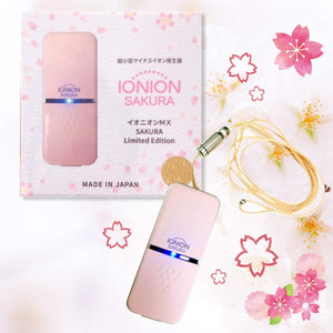 Ionion MX Sakura Air Purifier Portable Ion Generator