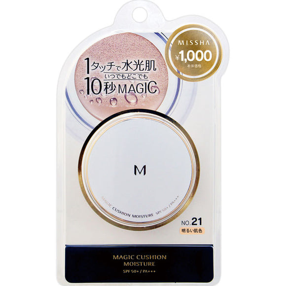 Misha Japan Misha M Cushion Foundation (Moisture) No. 21 Bright Skin Color 15G