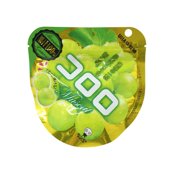Uha Mikakuto Kororo Muscat Grape Gummy 3 Bags