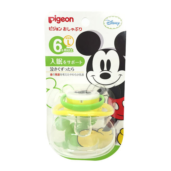 Pigeon Pacifier, L For 6 Months & Older, Mickey