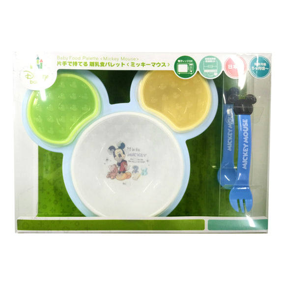 Hold-With-One-Hand Baby Food Palette, Mickey Mouse
