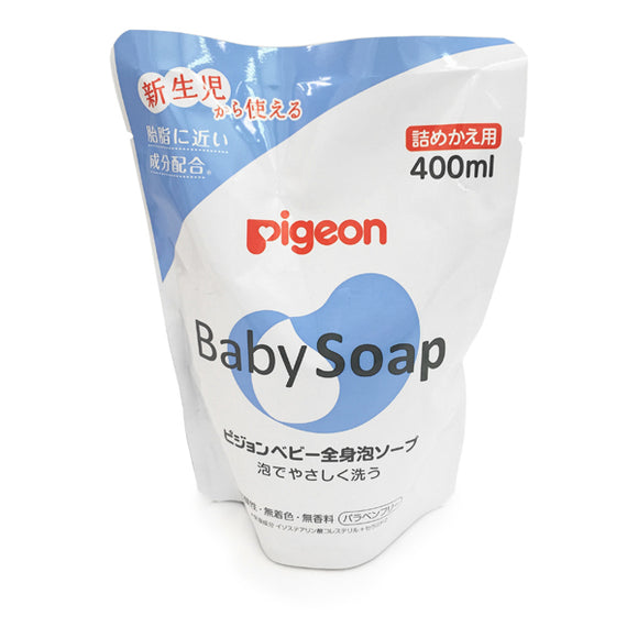 Pigeon Full Body Lather Soap, Refill