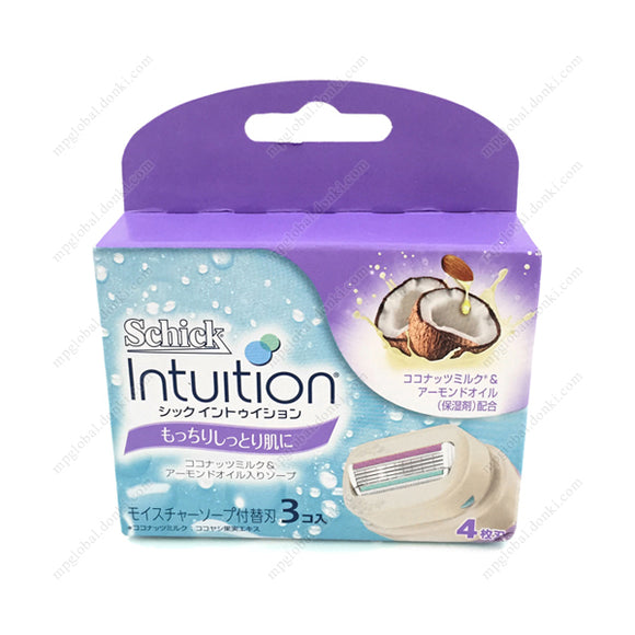 Schick Intuition Replacement Blade, For Soft, Moist Skin