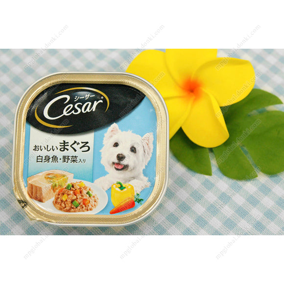 Cesar Delicious Tuna, W/White Meat Fish & Vegetables