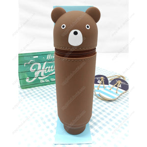 Punilabo Standing Pencil Case, Bear