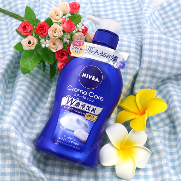 Kao Nivea Cream Care Body Soap, European White Soap Fragrance, Main Item