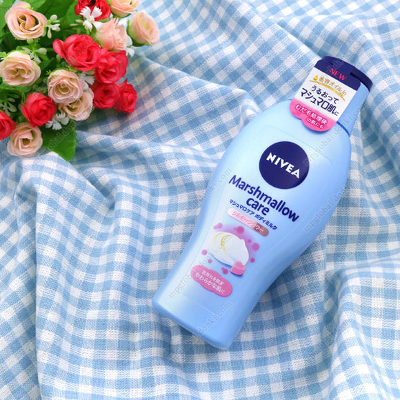 Kao Nivea Marshmallow Care Body Milk, Silky Flower