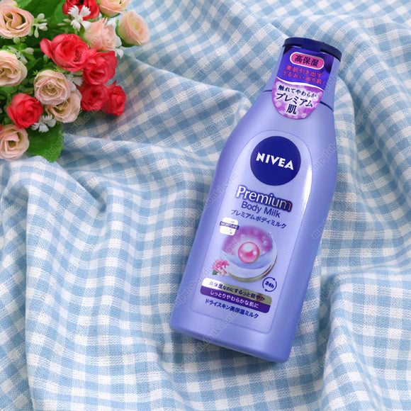 Kao Nivea Premium Body Milk