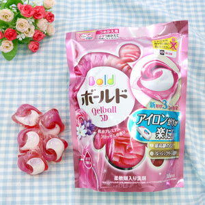 Bold Washing Detergent, Gel Ball 3D, Relaxing Premium Blossom Fragrance, Refill