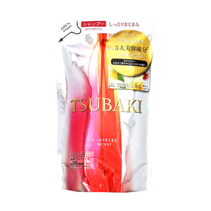 Tsubaki Moist Put-Together Shampoo, Refill, 330Ml