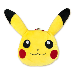 Poke©Mon Pikachu Clasp-Opening Pouch, Big Face
