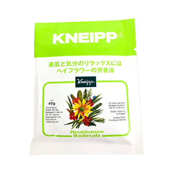 Kneipp Bath Salts, Hay Flowers