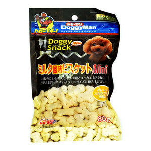 Doggy Snack, Value, Milk Flavor Biscuits, Mini (For All Dog Types)