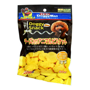 Doggy Snack, Value, Animal Biscuits W/Cheese (For All Dog Types)