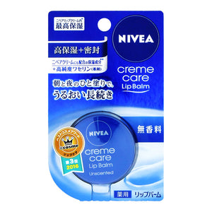 Nivea Cream Care Lip Balm, Unscented