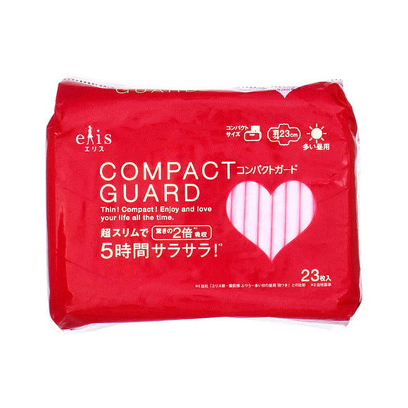 Elis Compact Guard (For Heavy Days) With Wings (23 Napkins)