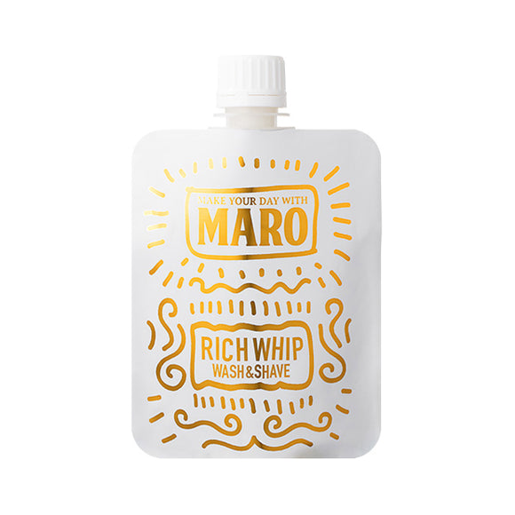 Maro Groovy Face Wash Rich Wash & Shave