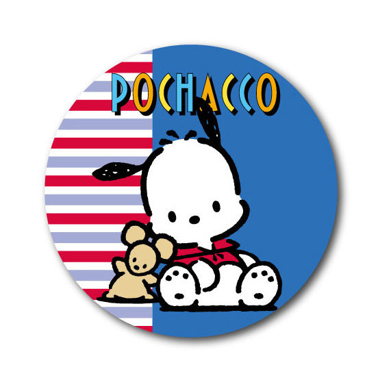 Lcb-193 Pochacco 76Mm Button Badge/ Sanrio Nostalgic Series