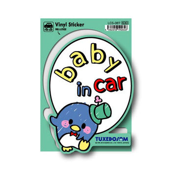 Lcs-067 Tuxedo Sam Baby In Car Sticker