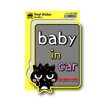 Lcs-068 Bad Badtz-Maru Baby In Car Sticker