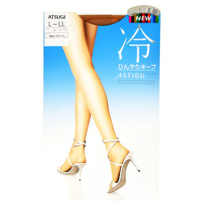 Astigu (Cool Texture) Cool Texture Lasting Pantyhose For Summer (Nudie Beige)(433) L-Ll