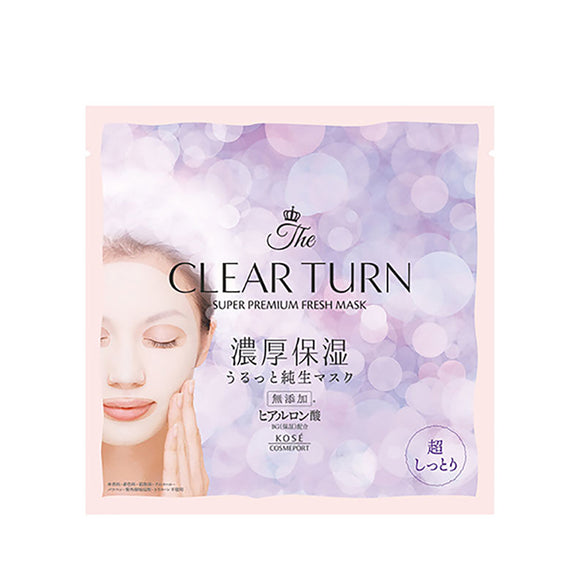 Clear Turn Premium Fresh Mask Super Moist 1Sheets