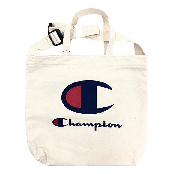 Champion 2 Way Tote Bag Ivory