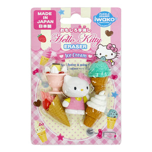 Funny Character Eraser Hello Kitty Ice