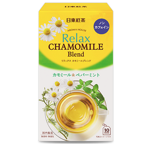 Nitto Tea Aroma House Relax Chamomile & Mint 10 bags x 6