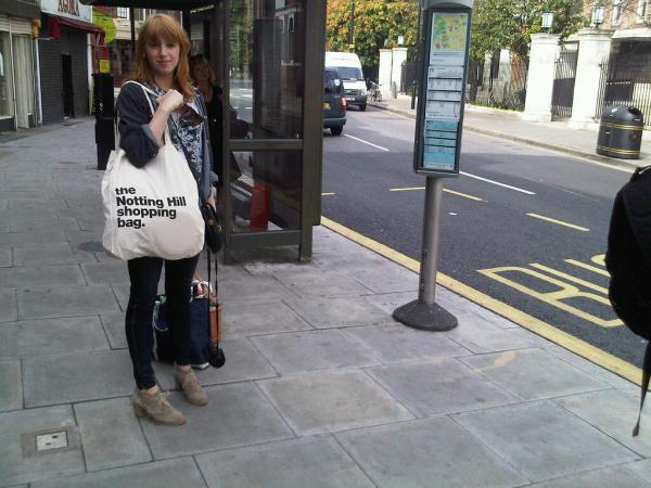 Spotted: Notting Hill Shopping Bag in Stoke Newington!