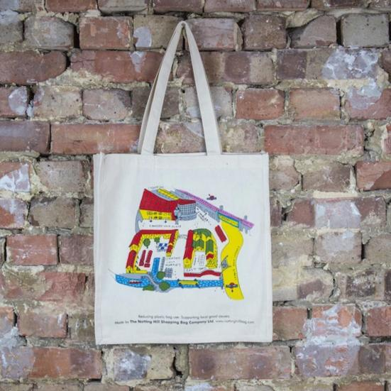 Camden Town Map - The Notting Hill Shopping Bag