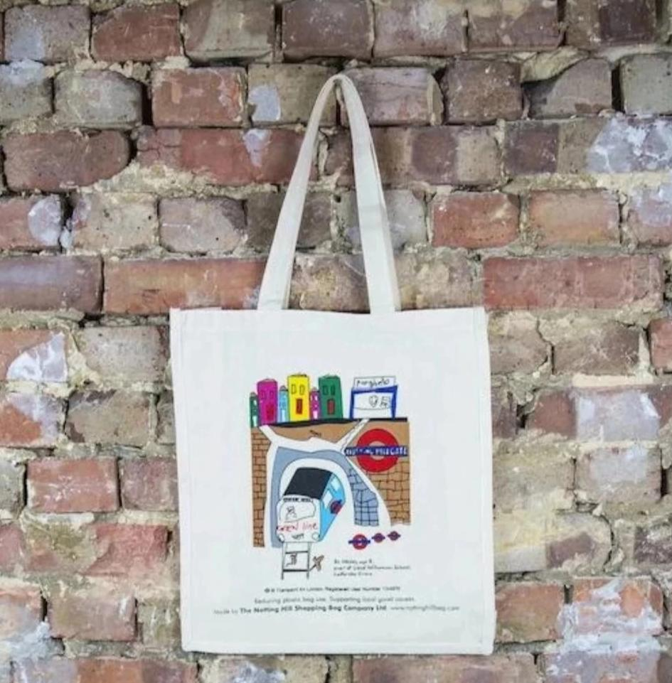 Train | Notting Hill Shopping Bag - The Notting Hill Shopping Bag