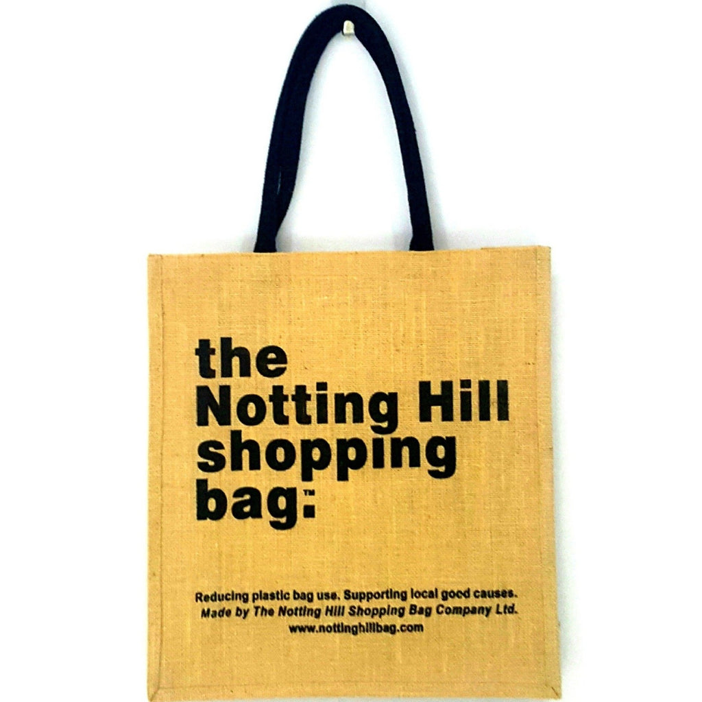 Brown Jute Bag | Notting Hill Shopping Bag - Notting Hill Shopping Bag