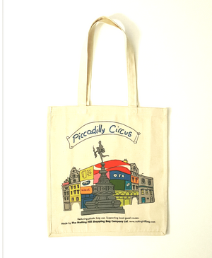 Piccadilly Circus Eros | Notting Hill Shopping Bag - The Notting Hill Shopping Bag