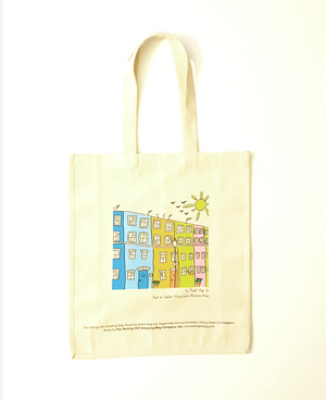 Houses | Notting Hill Shopping Bag - Notting Hill Shopping Bag