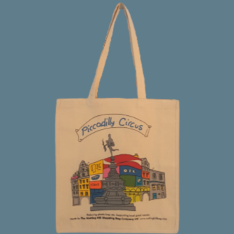 Piccadilly Circus Eros | Notting Hill Shopping Bag - Notting Hill Shopping Bag