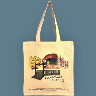 Piccadilly Circus | Notting Hill Shopping Bag - The Notting Hill Shopping Bag