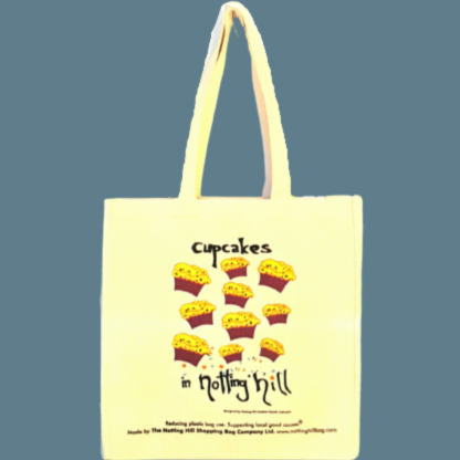 Cup Cakes | Notting Hill Shopping Bag - Notting Hill Shopping Bag