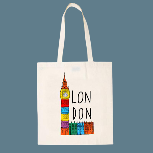 Big Ben | Notting Hill Shopping Bag - The Notting Hill Shopping Bag