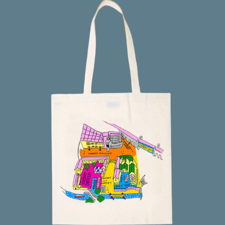 Camden Town Map | Notting Hill Shopping Bag - The Notting Hill Shopping Bag